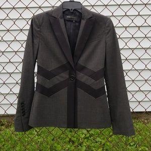 BCBGMaxAzria Black & Grey Blazer